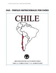 Perfil Nutricional de Chile - FAO.org