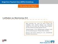 Starmoney 9 - VR Bank Rhein-Neckar eG