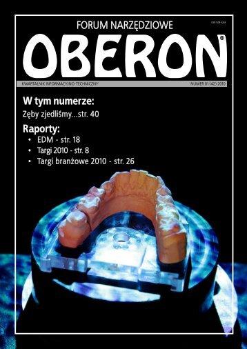 numer 01 (42) 2010 - Forum Narzędziowe Oberon