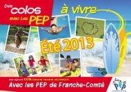 Séjours 2013 URPEP Franche-Comté