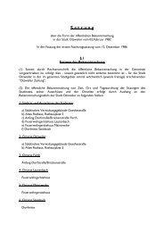 Öffentliche Bekanntmachungen - Ottweiler