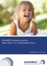Insektenschutz vom Profi - Sanimex