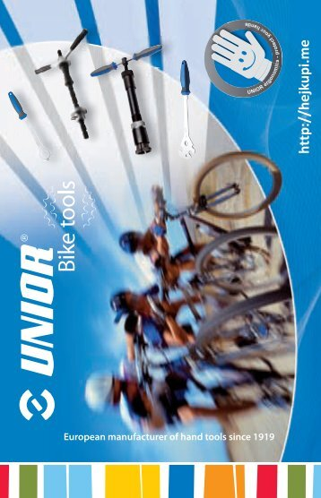 Unior Bike Tools Flyer