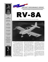 RV-8A - CAFE Foundation