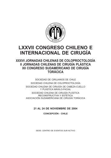 Resumen 2004 - Sociedad de Cirujanos de Chile