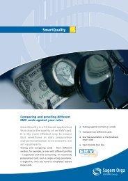 SmartQuality Sagem Orga