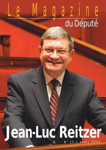 Télécharger le Magazine - Jean-Luc REITZER