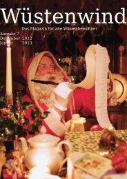 Ausgabe 7, Dezember 2012/Januar 2013 - Walpurgis-Verlag