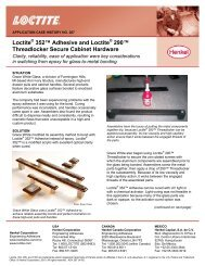 www  loctite com The Adhesive Sourcebook Loctite® brand products