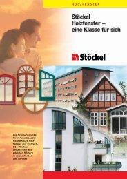 Stöckel Holzfenster – eine Klasse für sich - seifert-dewenter.com