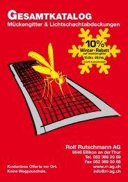 GESAMTKATALOG - Rolf Rutschmann AG