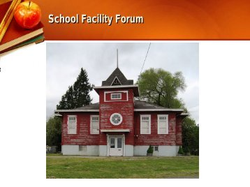 School Facility Forum - Scotts Valley Unified Schools