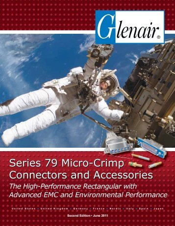 Series 79 Micro-Crimp Connectors and Accessories - Glenair, Inc.
