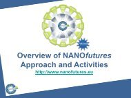 Overview of NANOfutures Approach and Activities