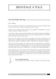 Livre résumé Assises 2010 - FF3S