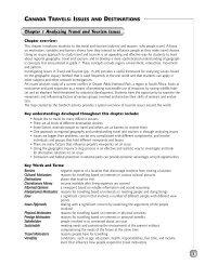 Teacher's Resource Chapter 1 - Nelson Education