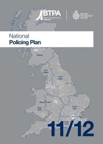 National Policing Plan - British Transport Police