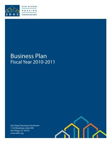 Business Plan - San Diego Housing Commission