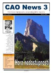 V tomto č ísle Horolezecký časopis severočeského regionu