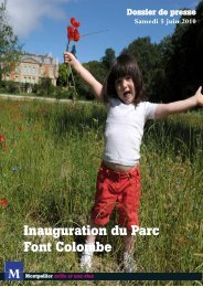 Inauguration du Parc Font Colombe - Montpellier