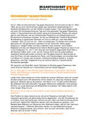 Internationaler Tag gegen Rassismus - Migrationsrat Berlin ...