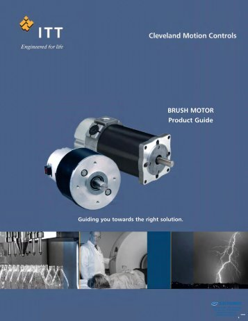 CMC Brush Servo Motor 2011 Catalog