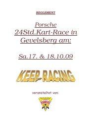 REGLEMENT Porsche 24Std.Kart-Race in Gevelsberg am - Indoor ...