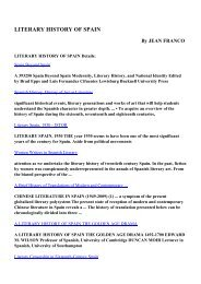 Download LITERARY HISTORY OF SPAIN pdf ebooks by JEAN ...