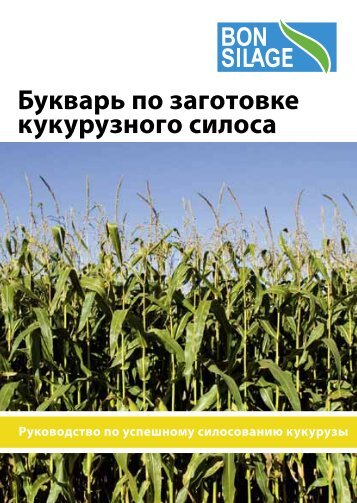 Букварь по заготовке кукурузного силоса