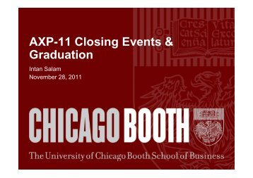 P Chicago Booth Portal