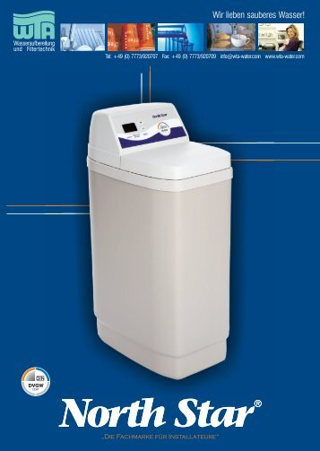 North Star® - WTA Wasseraufbereitung - Wir lieben sauberes Wasser