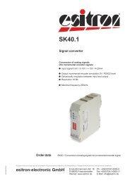 SK40.1 - esitron