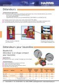 Chalumeaux soudeurs et coupeurs HARRIS - r.t. welding - Page 4