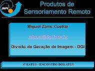 Novo Sistema de Geração de Imagem - INPE-DGI