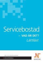 Servicebostad - vad är det? Lättläst - Norrköpings kommun