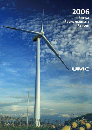 Corporate Social Responsibility - UMC