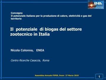 Potenziale biogas Italia - greenfvg.it