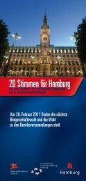 20 Stimmen für Hamburg