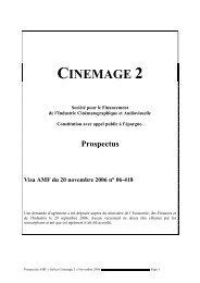 CINEMAGE 2 - Haussmann Patrimoine