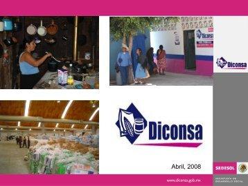 DICONSA 29 Abril 2008