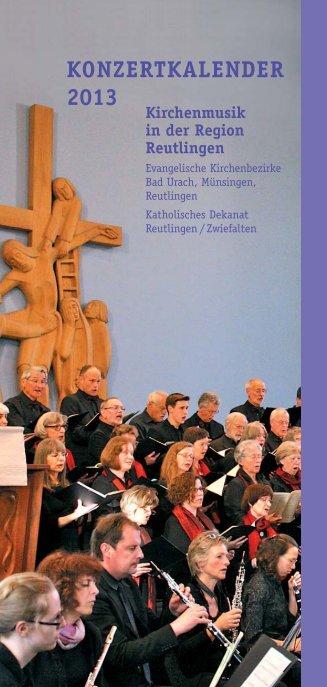 KONZERTKALENDER 2013 - Kirchenmusik-Online.de