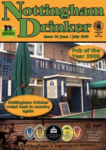 Pub of the Year 2009 - Nottingham CAMRA