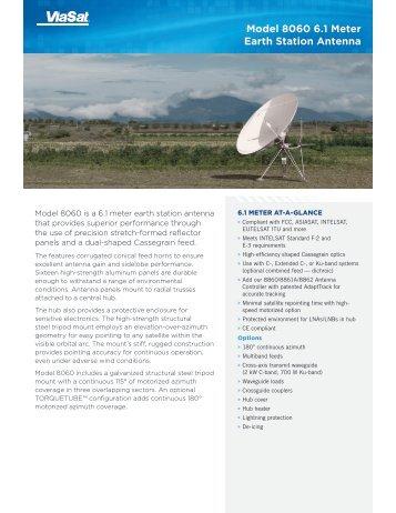 6 Meter Earth Station - ViaSat