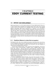 EDDY CURRENT TESTING - the Dept. of Mechanical Engineering at