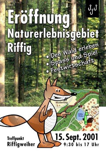 Flyer - Lernen @ Natur - Raum.ch