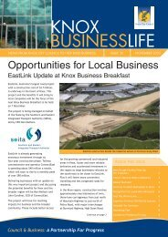 Issue 30 - November 2005 - Knox Business Direct