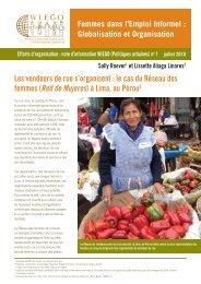 Les vendeurs de rue s'organisent : le cas du ... - Inclusive Cities