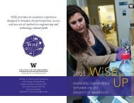 View flyer - College of Engineering - University of Washington
