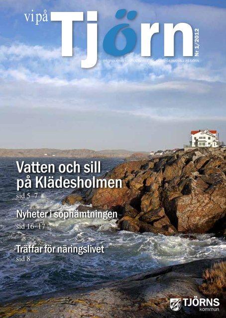 Vatten och sill på Klädesholmen - Tjörns kommun
