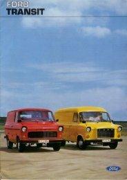 Ford Transit I - Holandia - 10.1975 - Capri.pl